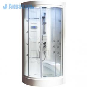 Душевая кабина Aquanet MALIBU New 860x860x2210 с г/м. без пара и эл. упр. ст.прозр.