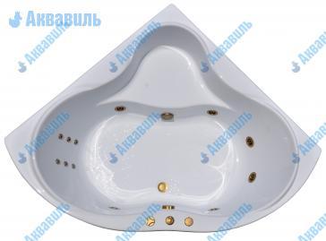 Гидромассажная ванна Тритон Медея 142х142 бронза купить в Москве, цена и фото в интернет-магазине Аквавиль.